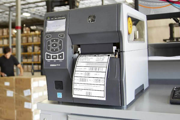 Zebra Etikettendrucker ZT410 für große 2D Codes
