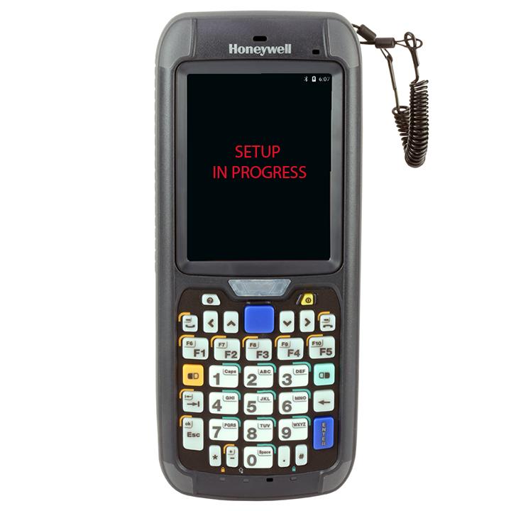 Honeywell cn75e Hand Scanner mit einem Android-Betriebssystem