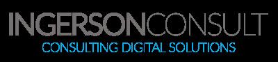 Das Logo von INGERSONCONSULT, consulting digital solutions
