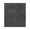 Symbol Team bestehend aus zwei Menschen in Schwarz-Weiß